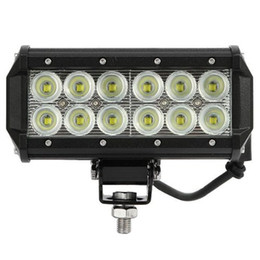 "Wholesale 24v off road lights - 2pcs Super Bright 7"" 36W Cree LED Work Light Bar Lamp Tractor Boat Off-Road 4WD 4x4 12v 24v Truck SUV ATV Spot Flood Working Light"