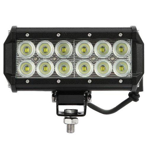 "2pcs Super Bright 7"" 36W Cree LED Work Light Bar Lamp Tractor Boat Off-Road 4WD 4x4 12v 24v Truck SUV ATV Spot Flood Working Light"