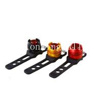 rote fahrradhelme großhandel-SKU964 BL-30R Wasserdichte LED-Fahrrad-Multifunktions-Front-Heck-Helm rot Blitzlichter Sicherheitswarnlicht Radfahren