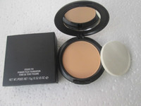 Wholesale good face foundation - NW25 1pcs lot good quality makeup new studio fix powder plus make up face foundation 15g face powder concealer with sponge makeup