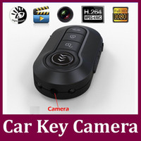 Wholesale Mini Dv Hd Dvr - 12 million pixels Full HD 1080P Hidden camera T4000 car key camera IR night vision Motion Detection Mini DV DVR Keychain video recorder