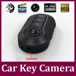 Wholesale Hd Motion Recorder - 12 million pixels Full HD 1080P Hidden camera T4000 car key camera IR night vision Motion Detection Mini DV DVR Keychain video recorder