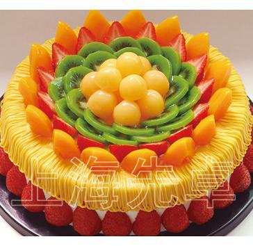 genuine Shanghai Zhuo First Plastic Birthday Cake Model Simulation