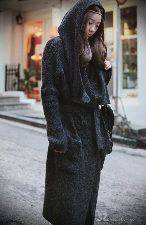 أزياء فاخرة امرأة الشتاء سترة من الصوف مزيج فرو الأرنب حك البلوزات اللباس أبلى رمادي هدية عيد الميلاد
