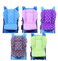 Wholesale Stroller Liners - Cute Wave Point Waterproof Baby Stroller Cushion Stroller Pad Pram Padding Liner