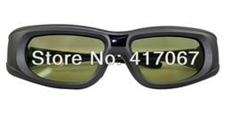 Wholesale Epson 3d Glasses Bluetooth - Wholesale-EPbt-05g Active Shutter Bluetooth 3D Glasses RF for EPSON ELPGS03 glasses