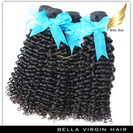 $enCountryForm.capitalKeyWord Canada - Virgin Indian Curly Hair Double Weft Human Hair Weaving Curly Wave Hair Weave 10-24 Inch Grade 9A 3pcs lot Natural Color Free Shipping