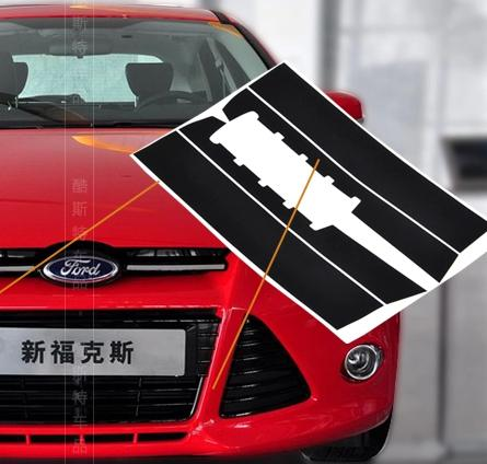 2018 big mouth 3d carbon fiber sticker for ford focus 3 decal for grille of focus 2012 2013 cool race stickers from lyq669 19 58 dhgate com