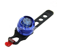 Wholesale function safety online - Bicycle taillight BL B Waterproof LED Bike Bicycle multi function Front Rear Tail Helmet red Flash Lights Safety Warning Light