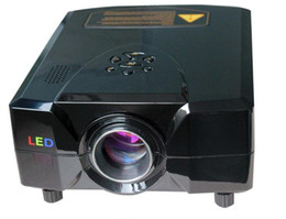 Wholesale Hd Game Projector - Led projector home theater 2200 lumens 16:9 big screen 1080p hd led proyector beamer for home video&game