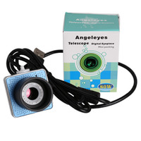 Wholesale Digital Eyepiece - 2014 Hot 0.8 MP digital lens electronic eyepiece Astronomical telescope camera USB Interface Connecting a computer display