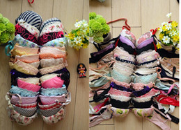 Wholesale Cheapest Underwear Wholesale - 2014 Rose Pink Doc Cheapest Free Shipping Hot Underwear Lace Bra Sets Women's Push Up Sexy Lady Female Fashion Floral Spring