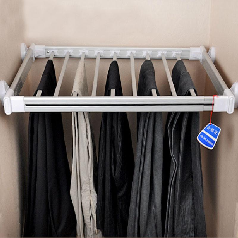 2018 Vatican Special Fta096 Pants Rack Cabinet Telescopic Aluminum Space  Frame Sliding Pants Rack Overall Pants Trousers Pumping Medi From Listener,  ...