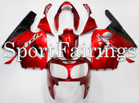 Wholesale Zx12r Red Body Kit - Fairings For Kawasaki Ninja ZX-12R ZX12R Year 2000 2001 00 01 ABS Motorcycle Fairing Kit ABS Red Plastic Bodywork Body Kit Carenes New
