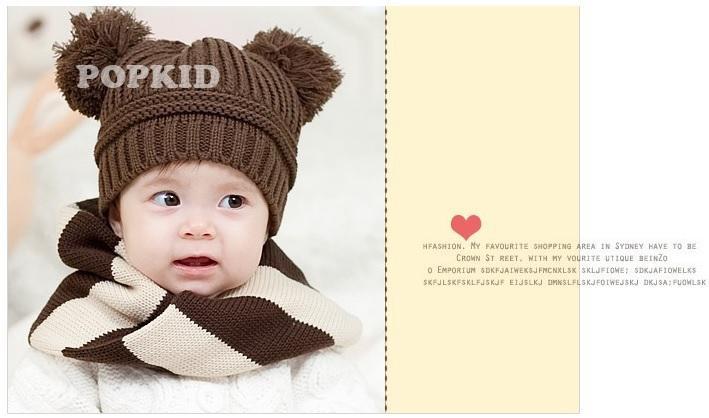 Saf Tığ Bebek Kasketleri Skullies çocuk Bereliler Örme Erkek Kap Kış Sıcak Bombacı Şapkalar Ücretsiz Nakliye