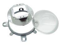 объектив с большой мощностью оптовых-57 мм LED объектив + отражение Кубок + кронштейн базы держатель овальной формы для 30 Вт - 100 Вт Овальный высокой мощности светодиодные