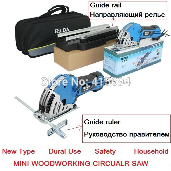 Household Mini Desktop Dual Use Woodworking Hand Saws Plunge Saw