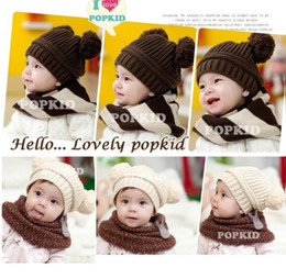 $enCountryForm.capitalKeyWord Canada - Cheapest Baby Beanies Crochet Handmade Ball Winter Hat Warm Girl Caps Skull Hat Hot Sale