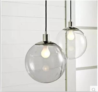 clear glass pendants lighting. perfect pendants discount fashion lamp scandinavian minimalist glass ball pendant light  american village restaurant lighting clear lamps brushed nickel  intended pendants