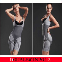 Wholesale Body Suit Bra - Bamboo Fiber Magic Slimming Beauty Underwear Gen Bamboo Charcoal Slimming Suits Pants Bra Bodysuit Body Shaper