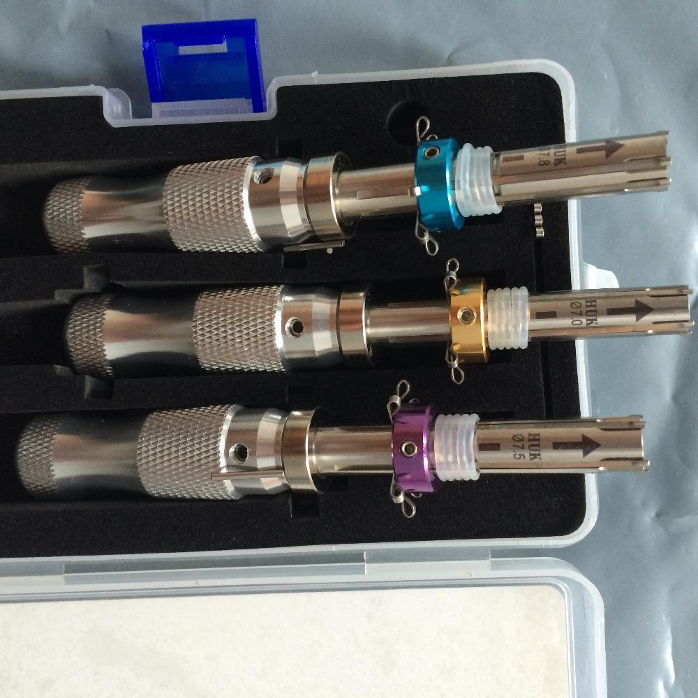 HUK LOCKSMITH TOOLS 7 Pin Advanced Tubular Lock Pick 7.0mm
