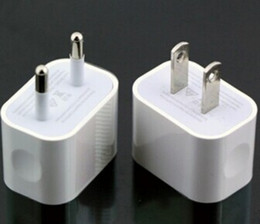 Wholesale Eu Wall Charger 4s 2a - 5V 2A EU US AC Travel USB Wall Charger Home Adapter for iPhone 6 5S 4S Samsung Galaxy S3 S4 S5 HTC Cell Phones White