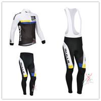 Wholesale Full Bull - HOT-2013 Bulls Team winter Fleece cycling jersey long sleeve Cycling clothing+(bib) Pants Set winter thermal fleece cycling clothing