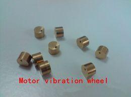 Wholesale Eccentric Wheel - vibration mound cylindrical metal wheel vibration motor vibration transducer eccentric DIY model toy motor parts