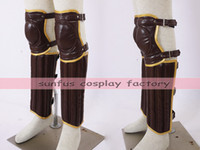 Wholesale Movie Leg - New Harry Potter movies Leg & Arm guard Gloves cosplay Quidditch costume Leather