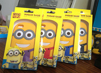 Wholesale Case Galaxy Note Minions - Silicone Despicable Me 2 Minions Soft Case Cover for iphone 4 4s iphone 5 5s 5c 6 ipad mini ipad air galaxy s3 i9300 s4 i9500 Note 2 Note 3