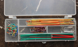 Wholesale Wholesale Breadboard - convenient New Solderless Flexible Breadboard Jumper wires Cables HOT Sale In stock