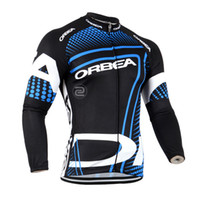 Wholesale long sleeve cycling jersey sale resale online - hot sale top quality Professional Team Cycling Long Jersey Breathable Quick Dry Cycling Monton ciclismo Long Sleeve Jersey sportswear