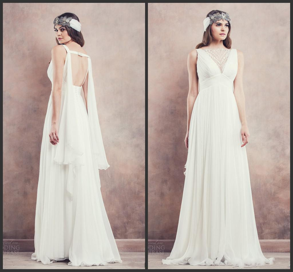 Elegant angel wings empire wedding dresses for pregnant for Wedding dress for pregnant woman
