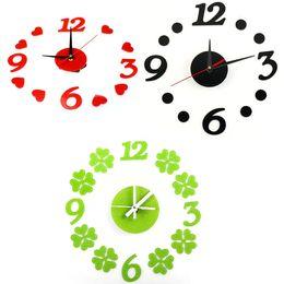 Wholesale Wall Clock Dots - DIY Self Adhesive Room Interior Decoration Digit Dot Number Wall Clock Jecksion