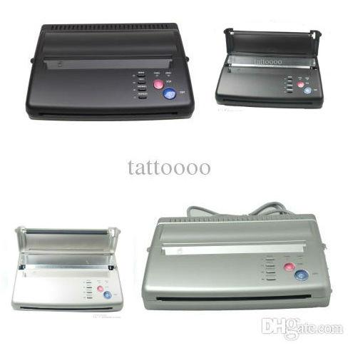 Top Quality Tattoo Thermal Transfer Copier Machine Tattoo Stencil Transfer Machine Tattoo Stencil Flash Printer Hectograph Supplies DHL Free