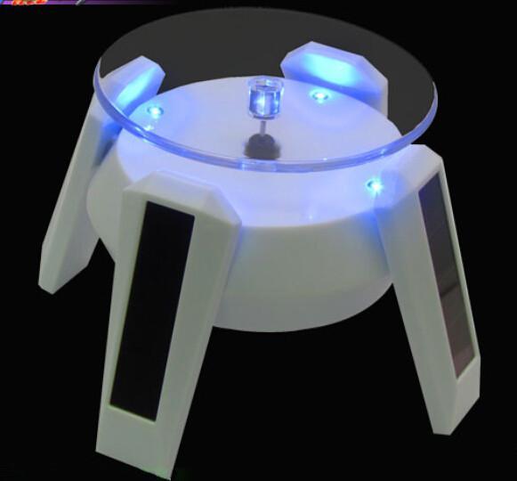 Hurtowa, duża rabata! Słoneczna wizytówka, wizytówka słoneczna, nie wymaga baterii, wyświetlacza automatycznego obrotu z czterema światłami LED