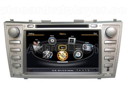 Wholesale Dvd Navigation For Camry - OEM replace for Toyota Camry 2008-2011 Car DVD Player With GPS Navigation(free Map) Radio(AM FM) Audio Video Stereo System with Bluetooth