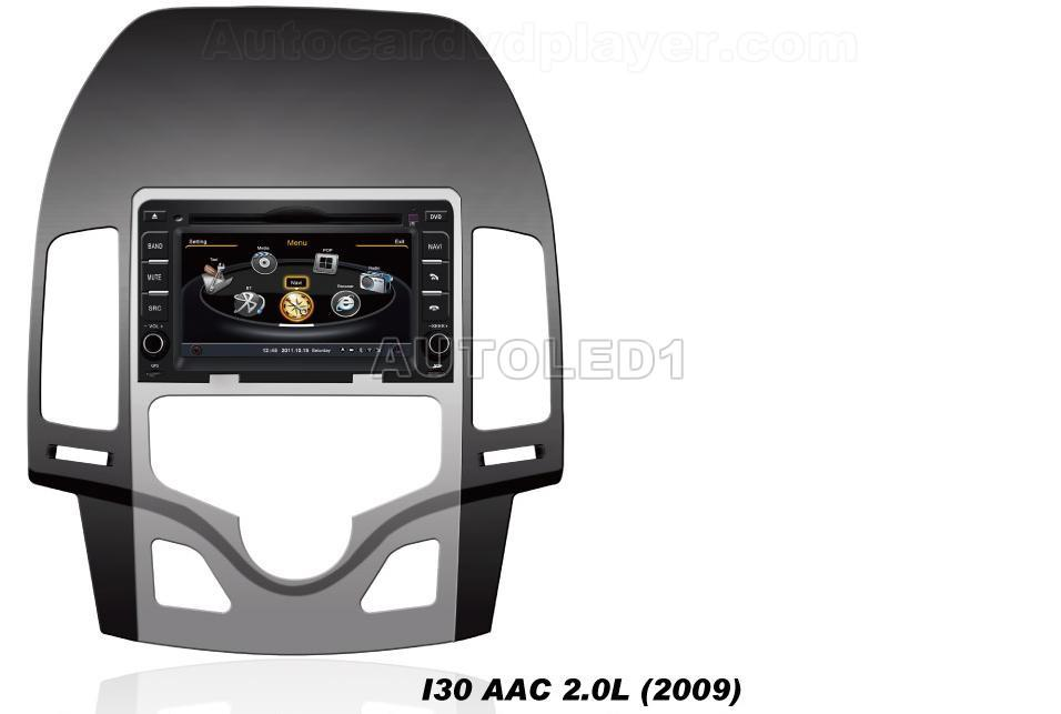 oem for hyundai i30 aac car dvd player with gps. Black Bedroom Furniture Sets. Home Design Ideas