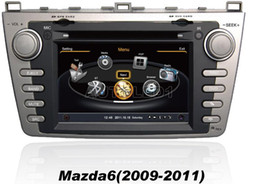 Wholesale Gps Navigation System Mazda - OEM replace 2009 2010 2011 Mazda 6 Car DVD Player With GPS Navigation (free Map) Radio(AM FM RDS) Stereo System Bluetooth