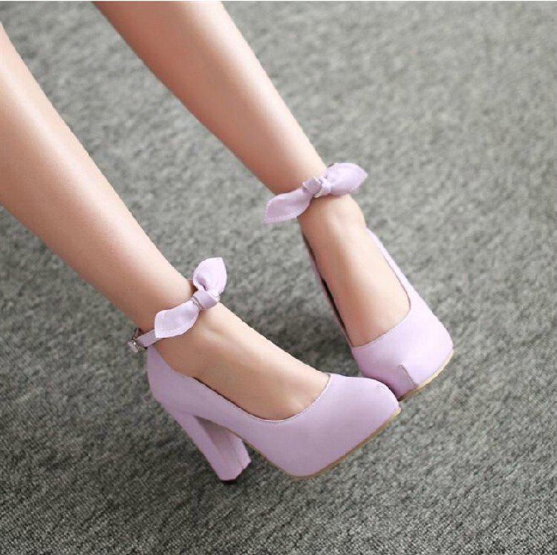 Cheap Light Pink Wedding Shoes