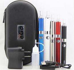 Wholesale Ego Cigarette Batery - VAPES Electronic Cigarette E cig EVOD Kit double EVOD starter kit Evod Batery ego battery and MT3 EVOD Atomizer E Cigarette