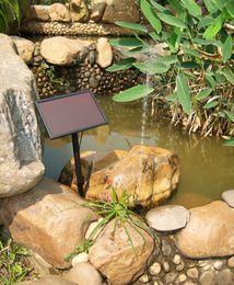 фэн-шуй кристалл дерево Скидка Водяной насос на солнечной батарее / фонтан на солнечной батарее / водяной насос / небольшой аквариум с фонтаном / на солнечной машине