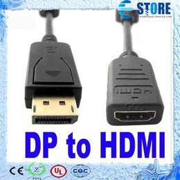 2019 apfel thunderbolt hdmi Thunderbolt Display Port DisplayPort DP Stecker auf HDMI Buchse Konverterkabel Adapter für Apple Macbook Mac Pro Air, 2 Style, free dhl, wu günstig apfel thunderbolt hdmi