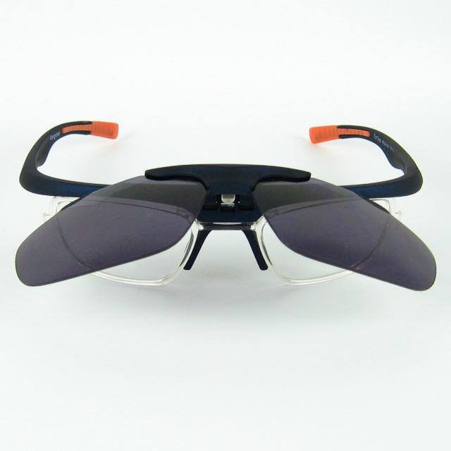 Flip Up Mens Occhiali da sole sportivi Lenti trasparenti all'interno del ciclismo Occhiali da sole Design della moda uomini e donne i