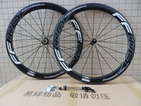 Wholesale Carbon Wheel Brake Surface - Powerway R36 hubs white FFWD fast forward F5R carbon bicycle wheels 50mm clincher tubular road cycling bike wheelset basalt brake surface