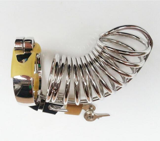 New Arrival Chastity Urządzenie z pierścieniem / męską klatką Chastity Device / Sex Zabawki / Dorosłych Zabawek SM638