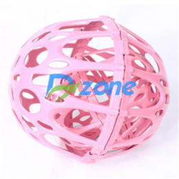 Wholesale Bra Washing Bubble - 2014 Fashion Special Fuction Hot Sale High Quality Low Cost 3PCS set Whole Sale Bra Washer Laundry Wash Bubble Double Ball#442