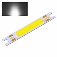 emissor led vermelho venda por atacado-Bobina branca 6000 do grânulo da lâmpada da ampola de tira do diodo emissor de luz SMD da ESPIGA 4.8W ~ 6500K # 33201