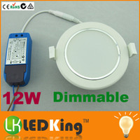 Downlights Led dimmerabili 12W LED Downlight luci ad incasso a soffitto AC100V-250V SALE ha condotto la luce del CE RoHS SAA l'Australia Popolare