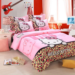 Wholesale Children Washing Machine - Home textiles bedclothes,Child Cartoon pattern,Hello kitty bedding sets include duvet cover bed sheet pillowcase,Free shipping